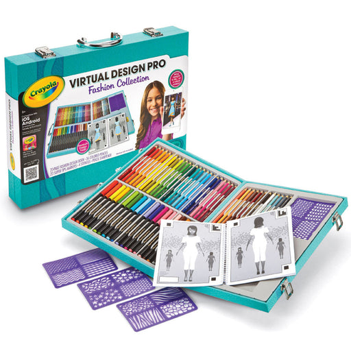 Crayola Virtual Design Pro Tray, Fashion Collection.