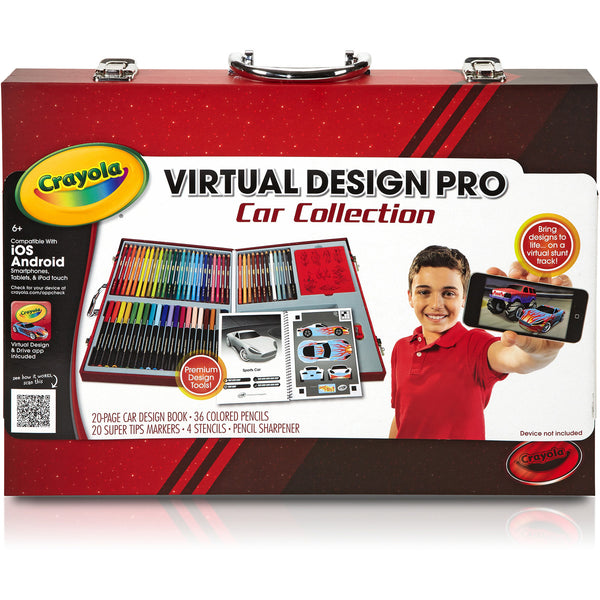 Crayola Virtual Design Pro Tray, Cars Collection