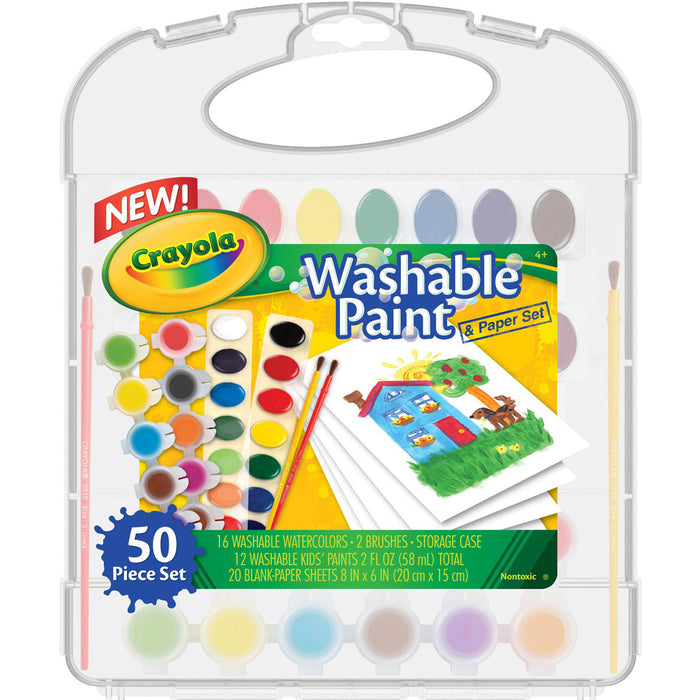 Crayola Washable Paint Set.