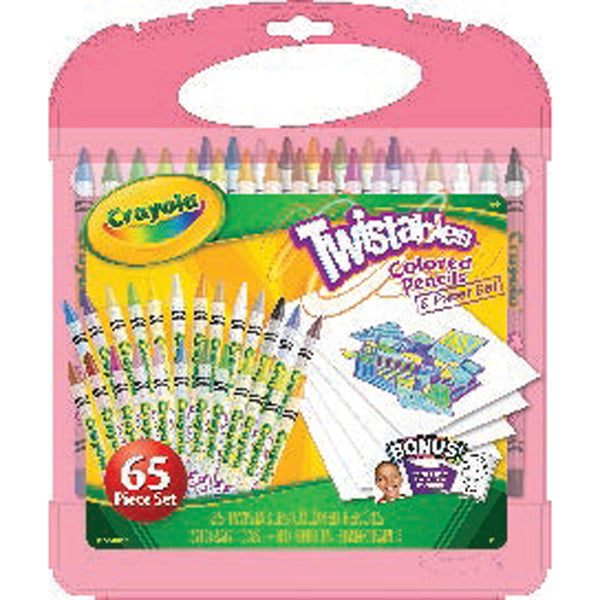 Crayola Twistables Colored Pencils & Paper
