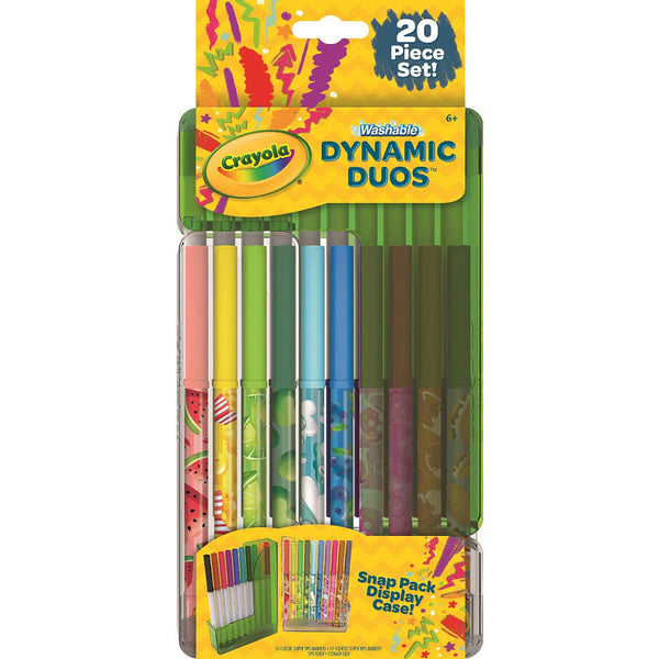Crayola Super Tips Dynamic Duos