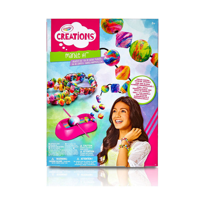 Crayola Creations Marble It Jewelry Kit.