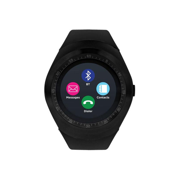 iTouch Wearables Curve Smartwatch Black - (Unisex)