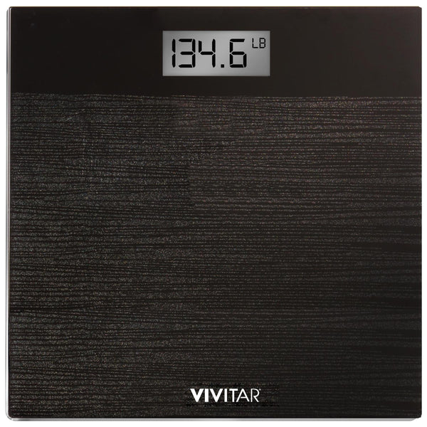 Vivitar Digital Glitter Bathroom Scale measures up to 400 lbs
