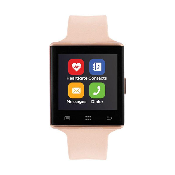 iTouch Wearables 41mm Air 2 Smart Watch - (Rose Gold and Blush)