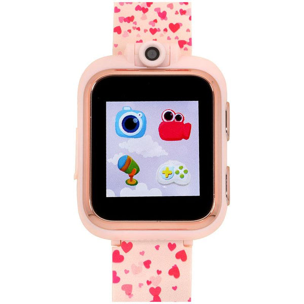 iTouch Wearables Kids PlayZoom Smart Watch with Hearts Print Strap