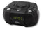 Dual Alarm Clock Radio with CD Player