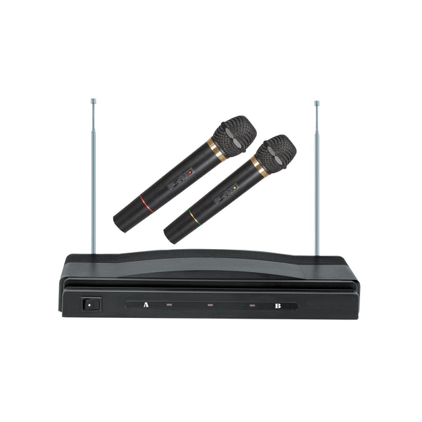 Supersonic Professional Dual Wireless Microphone System