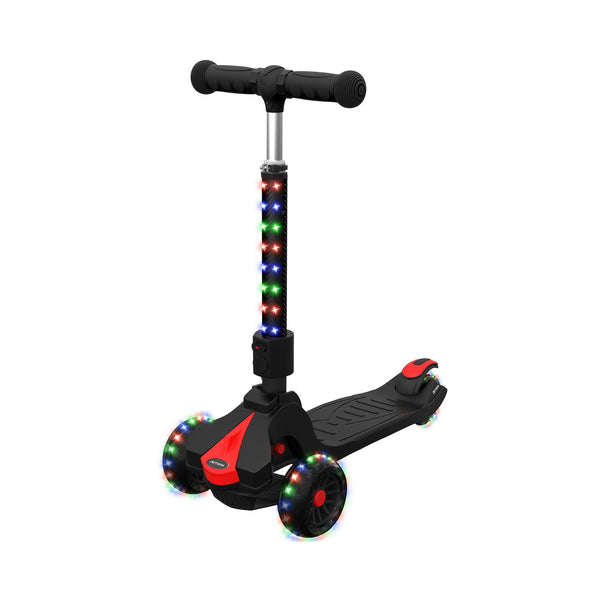 Folding 3-Wheel Kick Scooter with Light-Up Stem & Deck