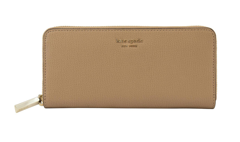 Kate Spade Sylvia Slim Continental Wallet - Light Fawn