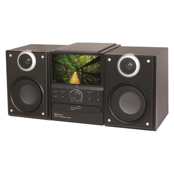 Supersonic Hi-Fi Audio Micro System w/ Bluetooth DVD Player & Tuner