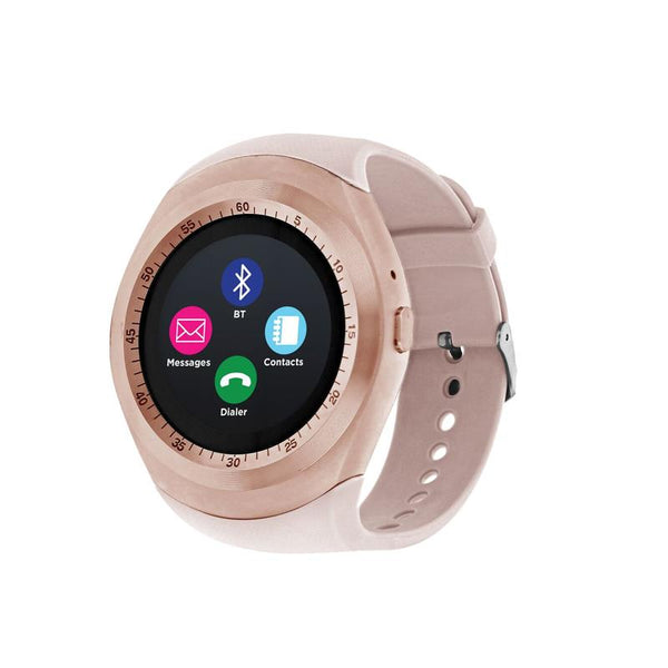iTouch Wearables Curve Smart Watch - (Rose Gold and Blush)