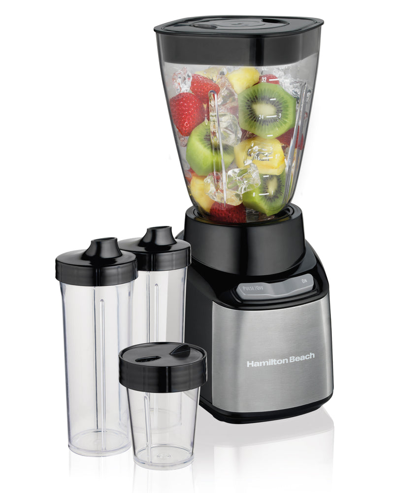 Hamilton Beach Stay or Go Blender with Travel Cups