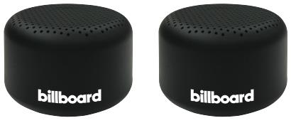 Billboard True Wireless Speaker Puck- Twin Pack