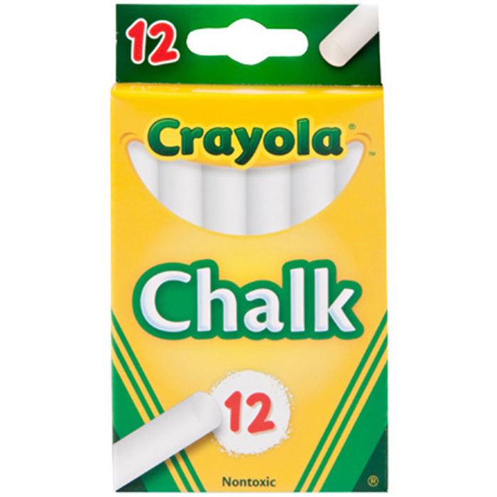 Crayola 12 ct. White Children's Chalk.