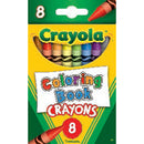 Crayola 8 ct. Coloring Book Crayons