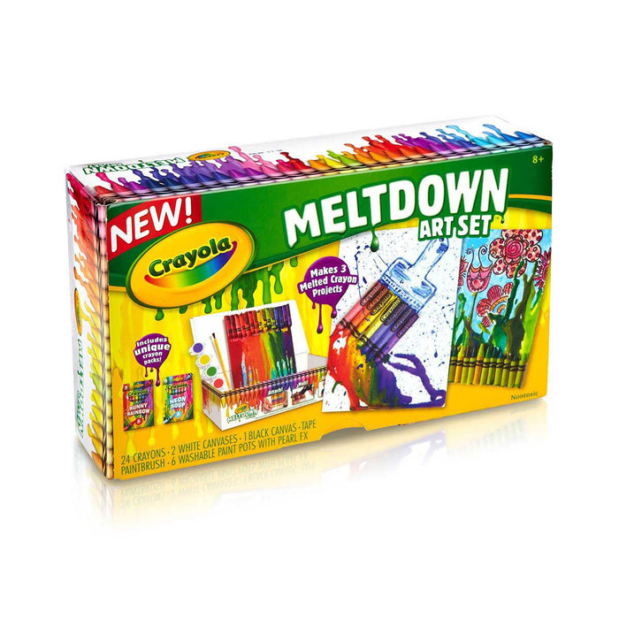 Crayon Meltdown Set.