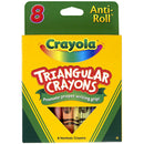 Crayola 8 ct. Triangular Crayons