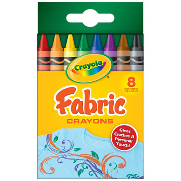 Crayola 8 ct. Fabric Crayons.
