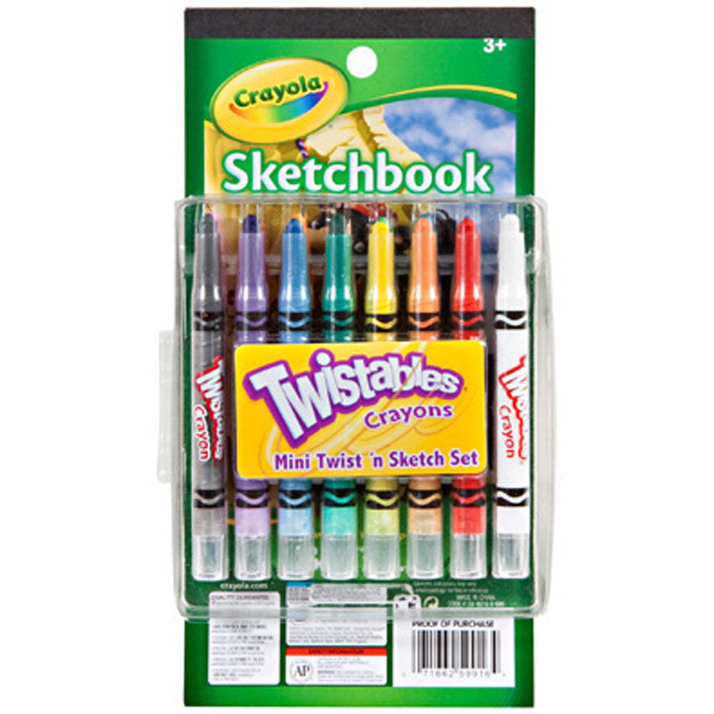 Crayola Mini Twistables & Sketch Set.