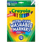 Crayola 12 ct. Ultra-Clean Washable Assorted, Fine Line, ColorMax Markers