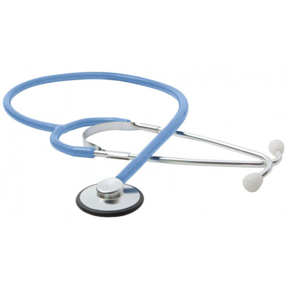 Single Head Stethoscope - Light Blue