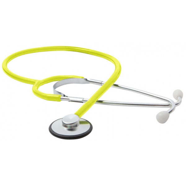 Single Head Stethoscope - Neon Yellow