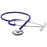 Single Head Stethoscope - Purple