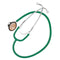 Dual Head Stethoscope - Dark Green
