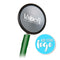 Dual Head Stethoscope - Green