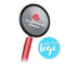 Dual Head Stethoscope - Red