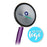 Dual Head Stethoscope - Purple