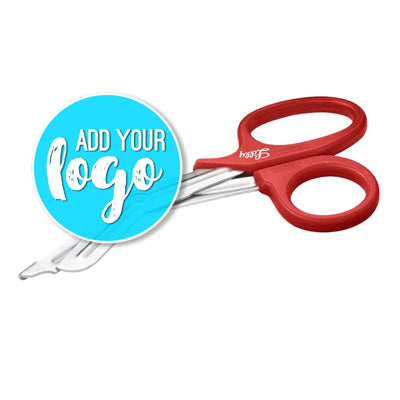 "7.25"" Medical Shears -  Red"