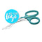 "7.25"" Medical Shears - Teal"