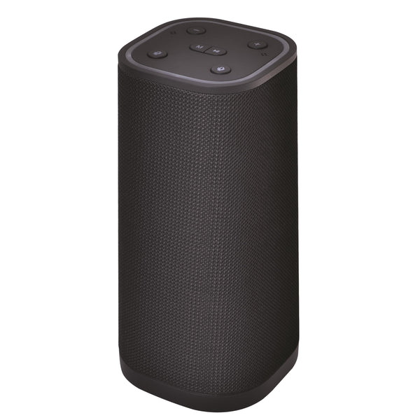 Supersonic Alexa Enabled Port Wifi Bluetooth IPX4 Speaker Black