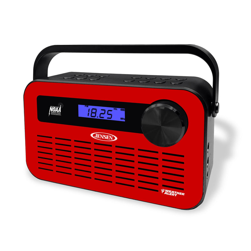 Portable Digital AM/FM Weather Radio with Weather Alert
