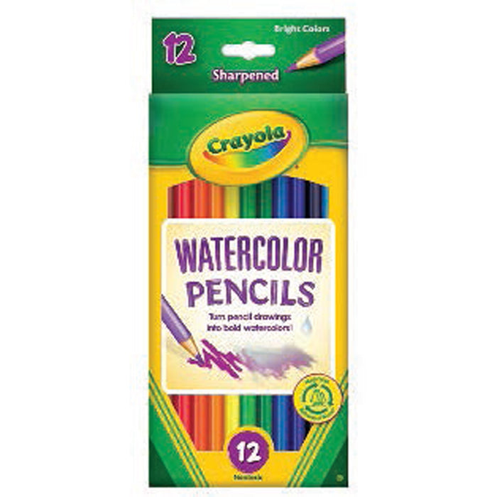 Crayola 12 ct. Watercolor Pencils.