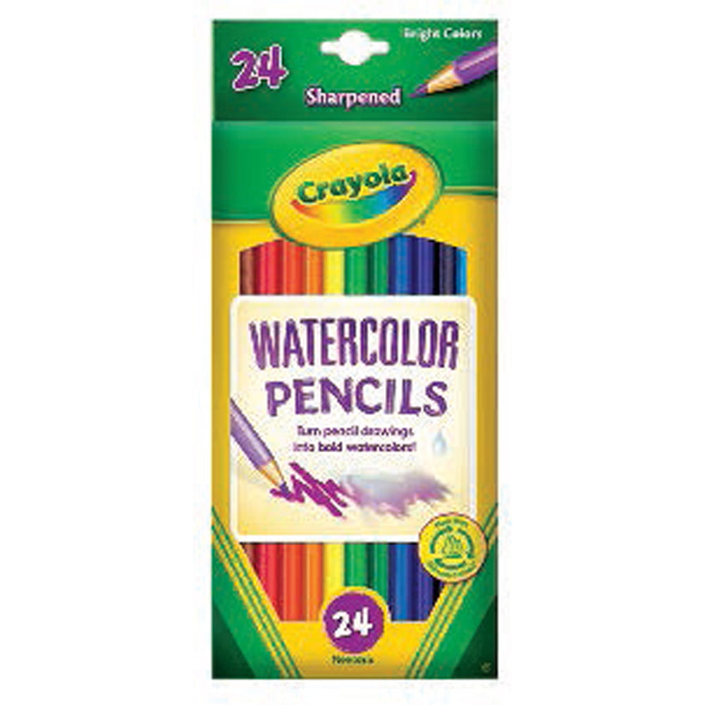 Crayola 24 ct. Watercolor Pencils.