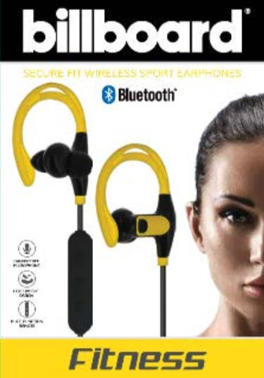 Billboard Bluetooth Wireless Sports Earbuds