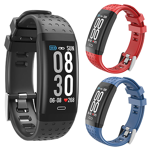 Supersonic Bluetooth Fitness Band w/ 3 Color Band Set