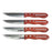 4 PC Gourmet Steak Knife Set