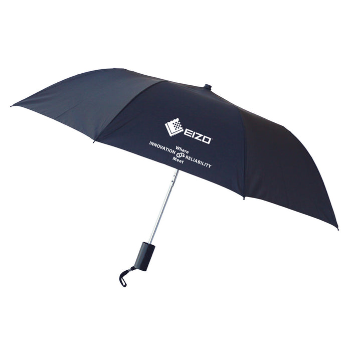Auto Compact Umbrella Black