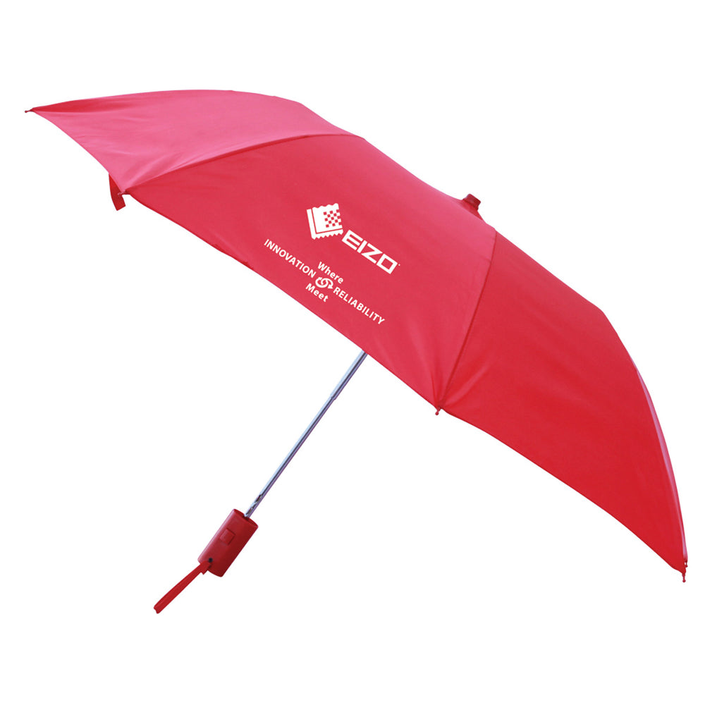 Auto Compact Umbrella Red