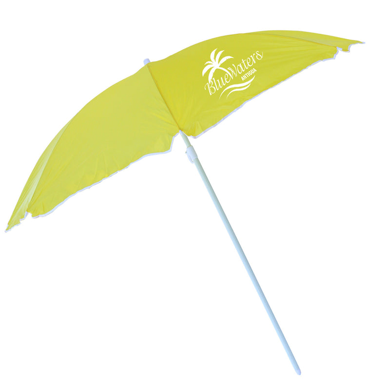 "70"" Beach Umbrella All Yellow"
