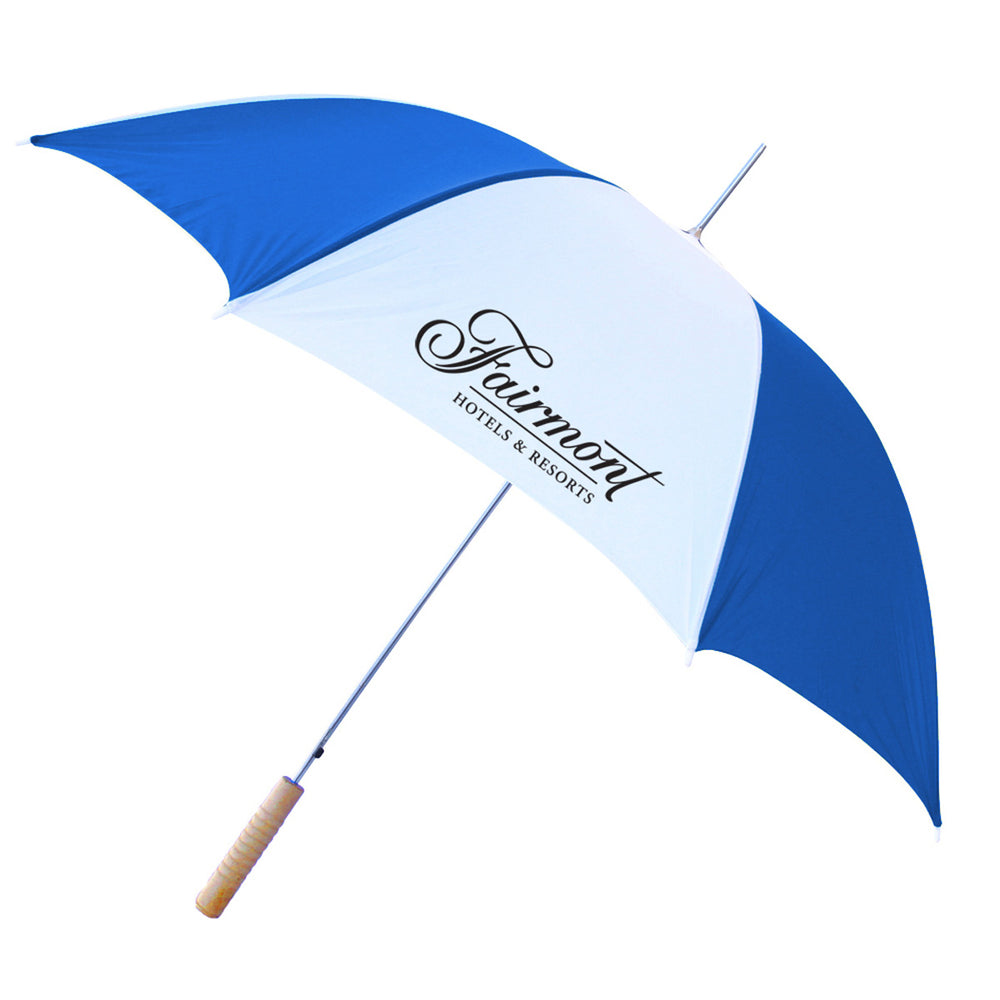 "48"" Auto Umbrella (Blue/Wht)"