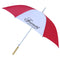 "48"" Automatic Umbrella Red/Wht"
