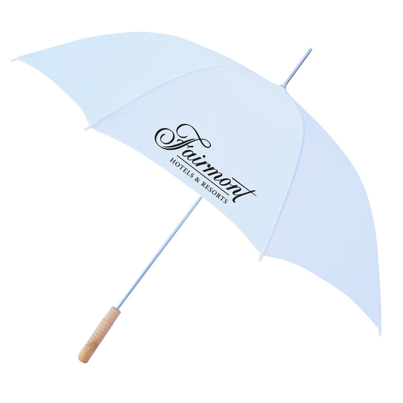 "48"" Auto Umbrella All White"