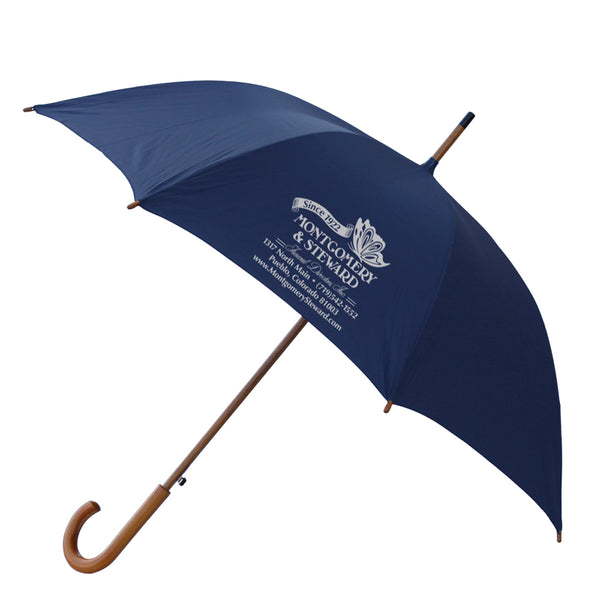 "48"" Wood Shaft Umbrella Royal"