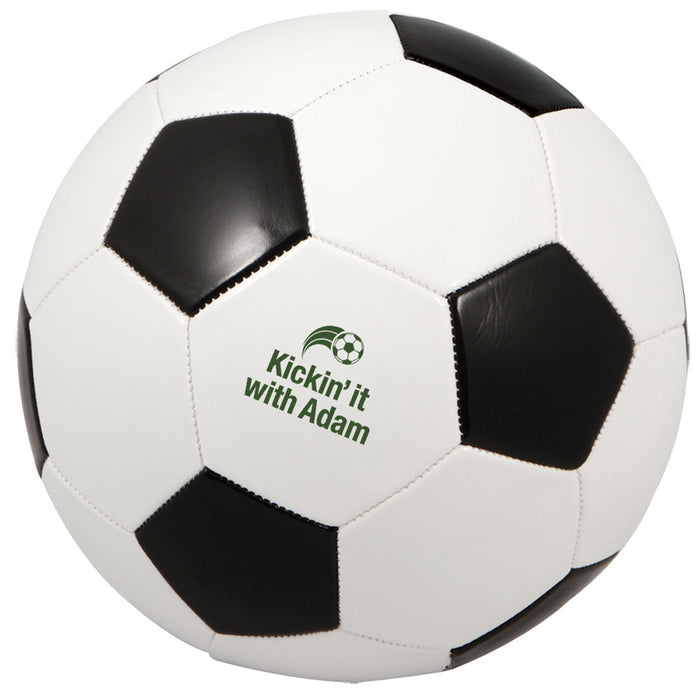 Regulation Blk/Wht Soccer Ball