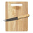Rubberwood Cutting Board Set